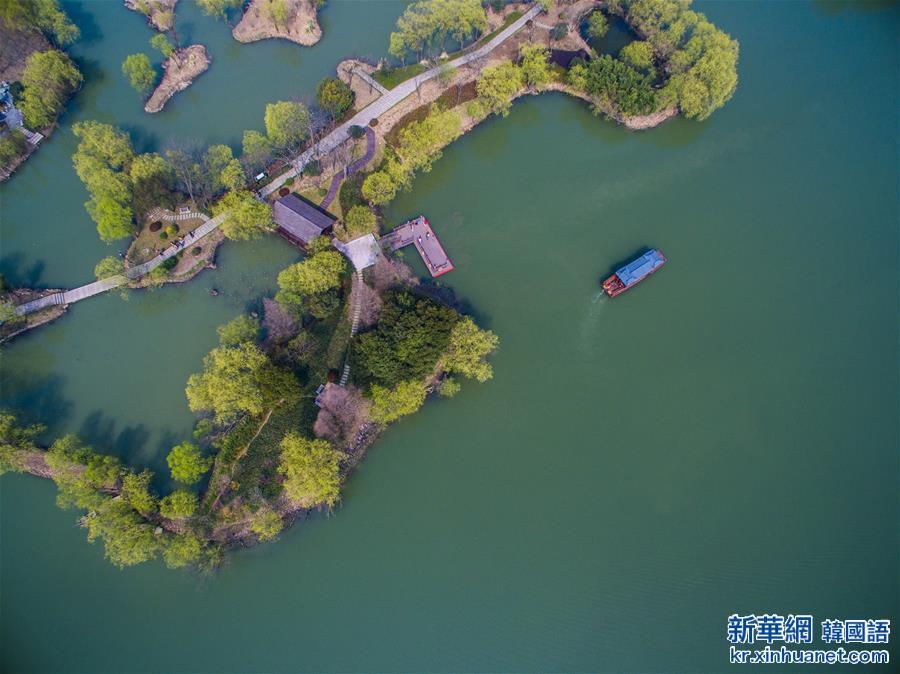 (美麗中國)(1)太湖濕地公園春意濃