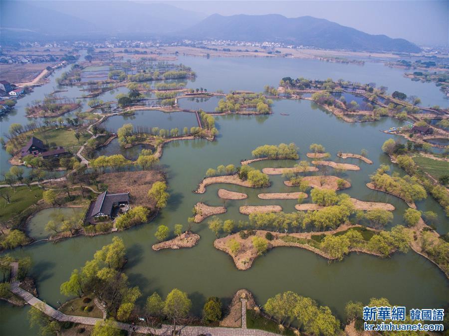 (美麗中國)(2)太湖濕地公園春意濃