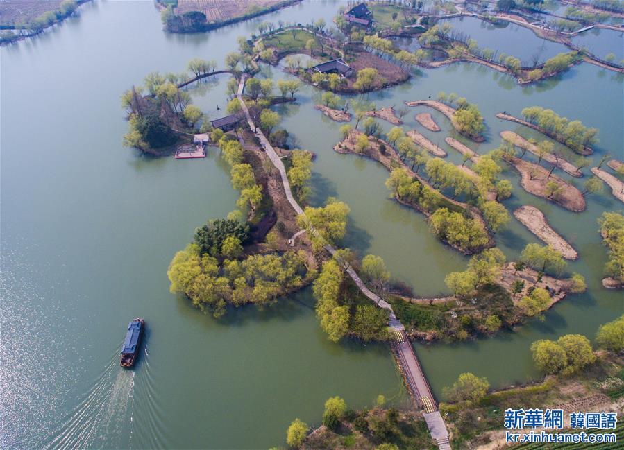 (美麗中國)(4)太湖濕地公園春意濃