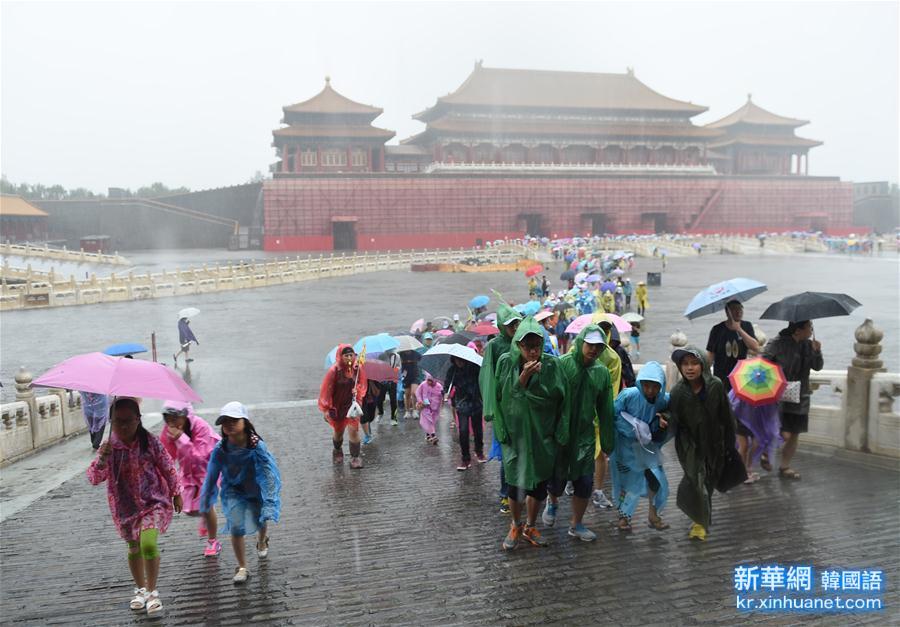 (生態)(1)北京發布暴雨黃色預警
