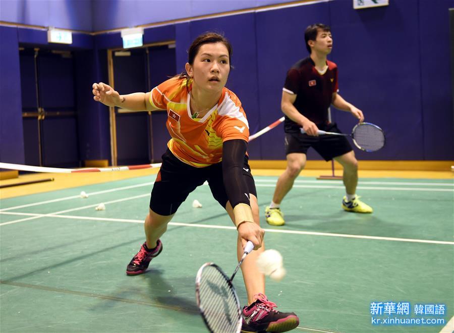 (裏約奧運會)(1)羽毛球——中國香港羽毛球隊備戰裏約奧運會