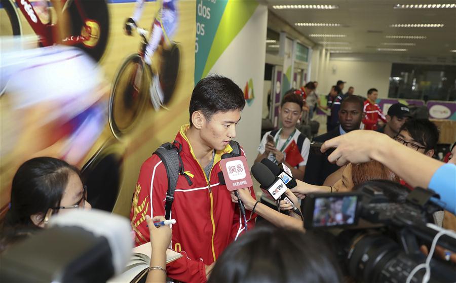 (裏約奧運會)(1)遊泳——中國遊泳隊抵達裏約