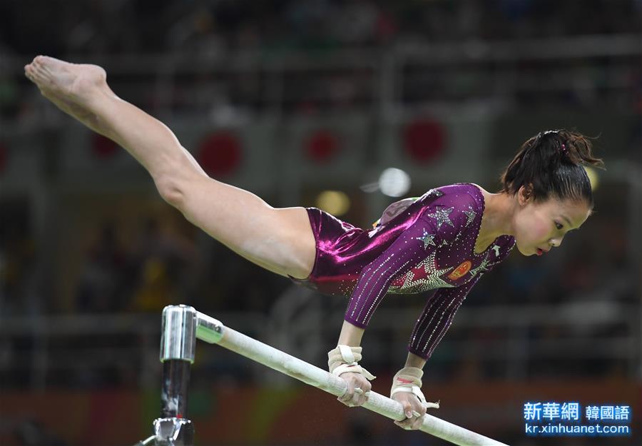 (裏約奧運會)(6)體操——中國隊奪得女團季軍