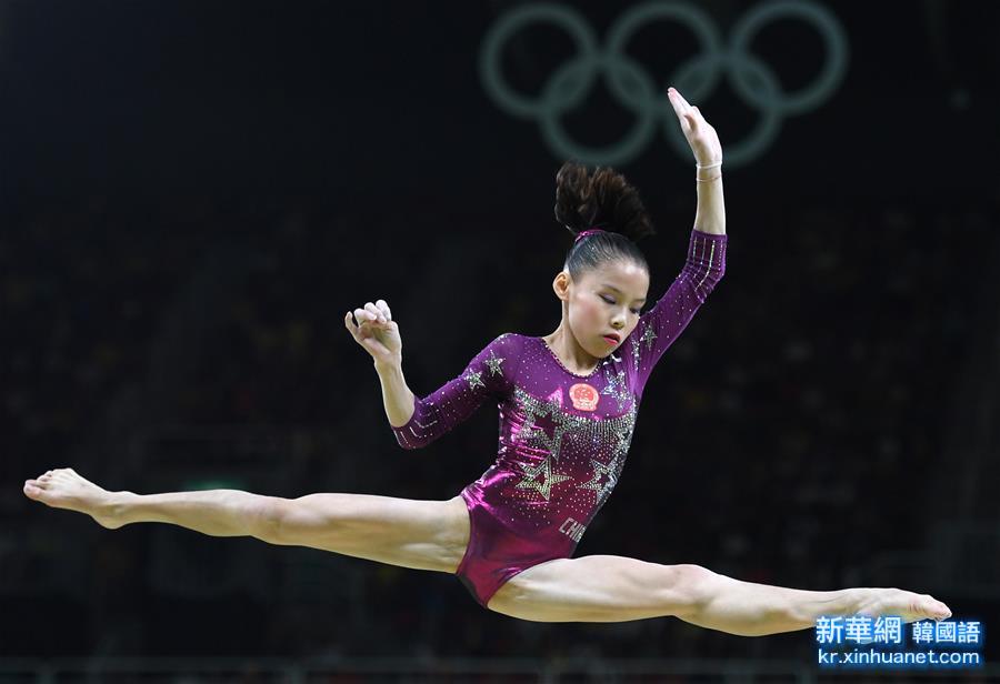 (裏約奧運會)(7)體操——中國隊奪得女團季軍