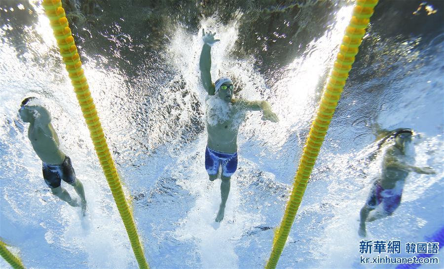 (裏約奧運會·多棱鏡)(1)遊泳——群星耀碧水