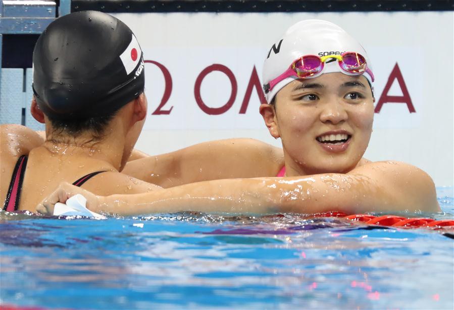 (裏約奧運會)(1)遊泳——女子200米蛙泳決賽:史婧琳摘銅