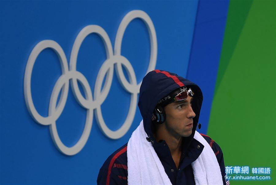 (裏約奧運會)(13)遊泳——男子200米個人混合泳:菲爾普斯奪冠