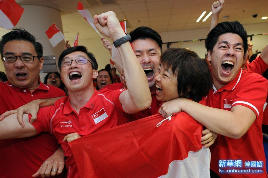 (裏約奧運會)(2)新加坡奪首枚奧運金牌