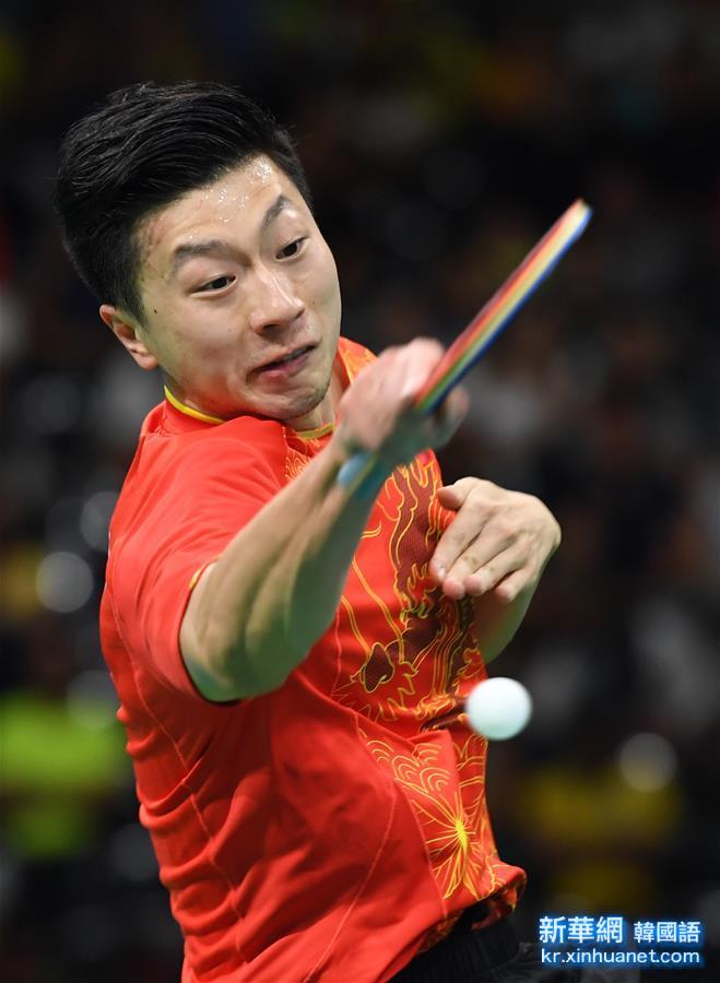 (裏約奧運會)(7)乒乓球——中國男團晉級決賽