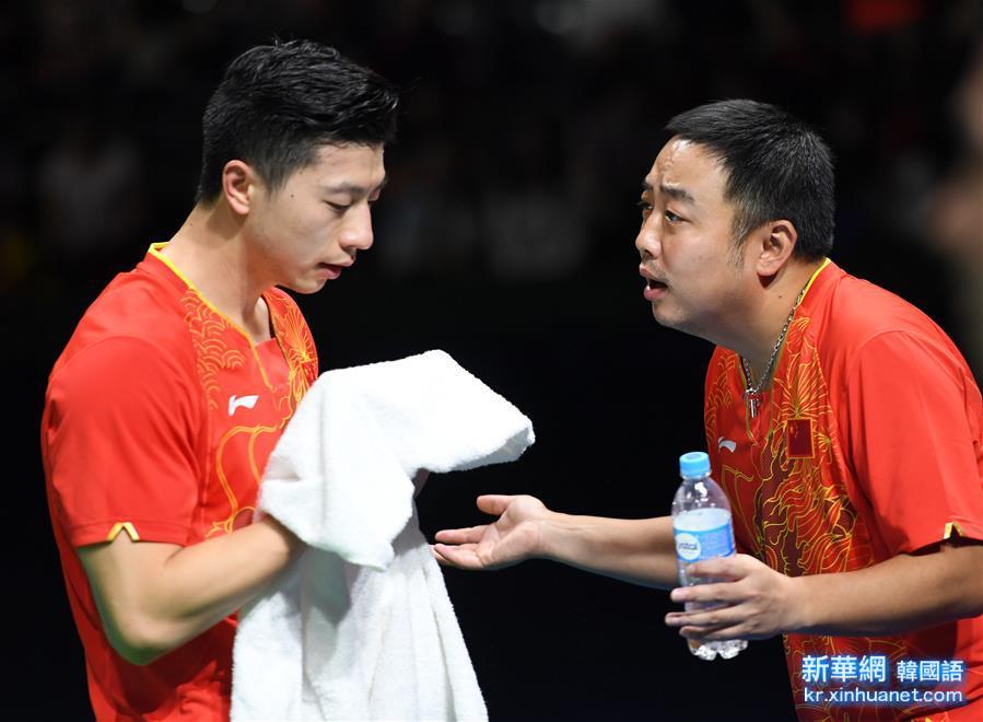 (裏約奧運會)(10)乒乓球——中國男團晉級決賽
