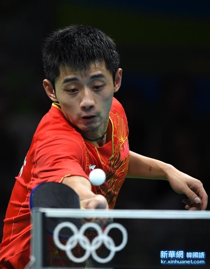 (裏約奧運會)(15)乒乓球——中國男團晉級決賽