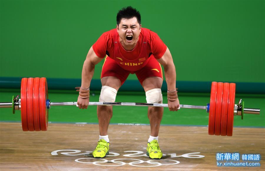 (裏約奧運會)(1)舉重——男子105公斤級:中國選手楊哲獲第四名