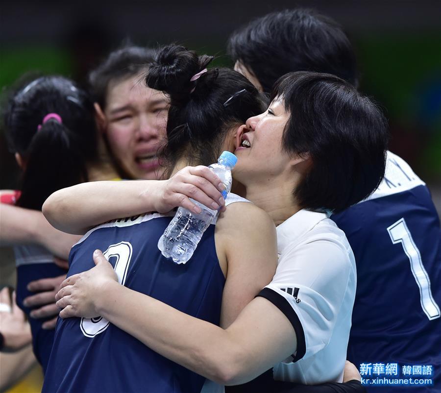 (裏約奧運會)(32)排球——女排:中國隊晉級四強