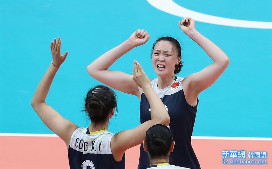 (裏約奧運會)(26)排球——女排:中國隊挺進決賽
