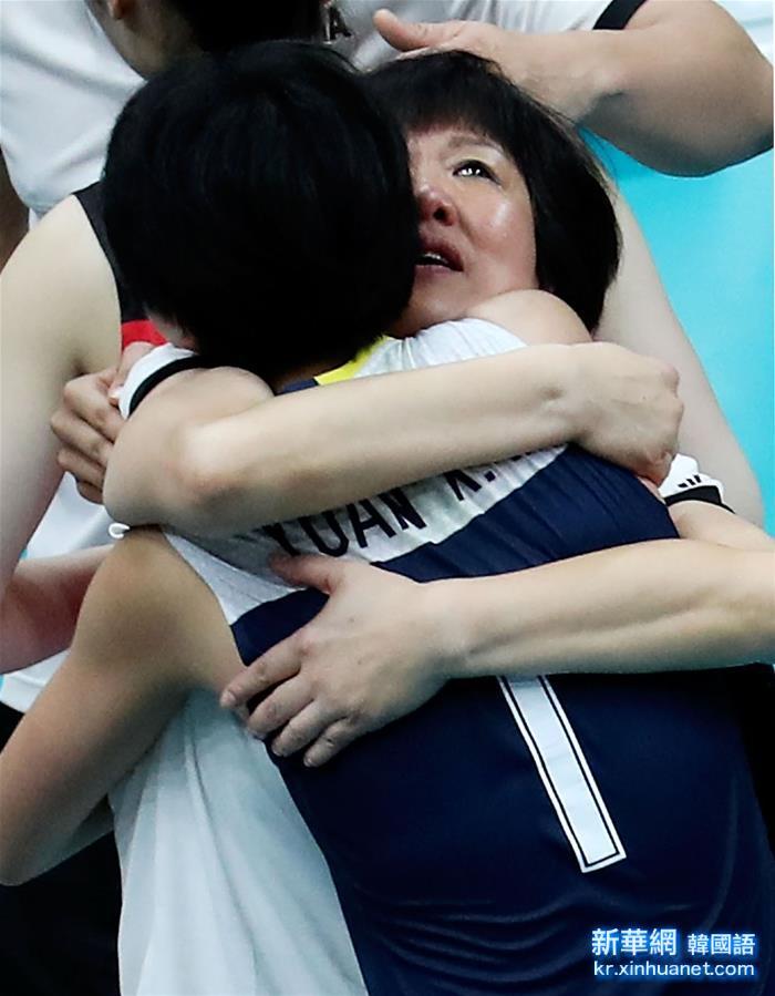 (裏約奧運會)(31)排球——女排:中國隊挺進決賽