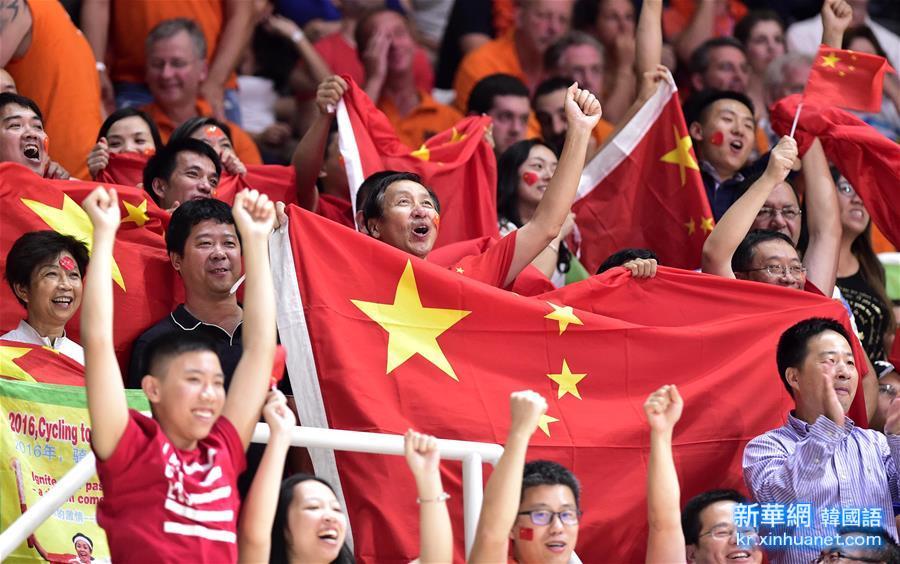 (裏約奧運會)(45)排球——女排:中國隊挺進決賽