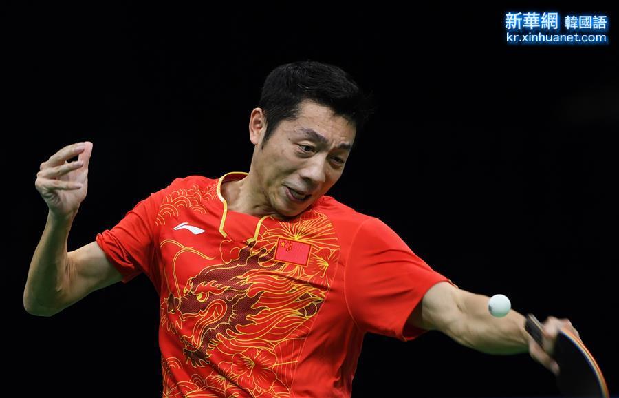 (裏約奧運會)(9)乒乓球——中國男隊奪金