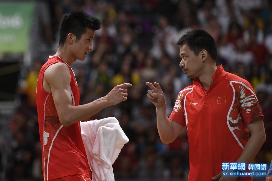 (裏約奧運會)(4)羽毛球——男單決賽:諶龍奪冠