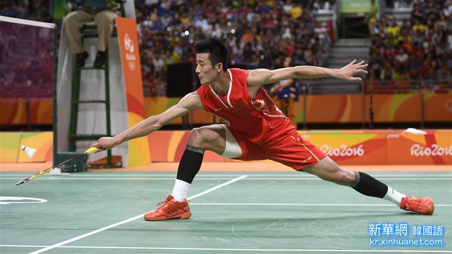 (裏約奧運會)(8)羽毛球——男單決賽:諶龍奪冠