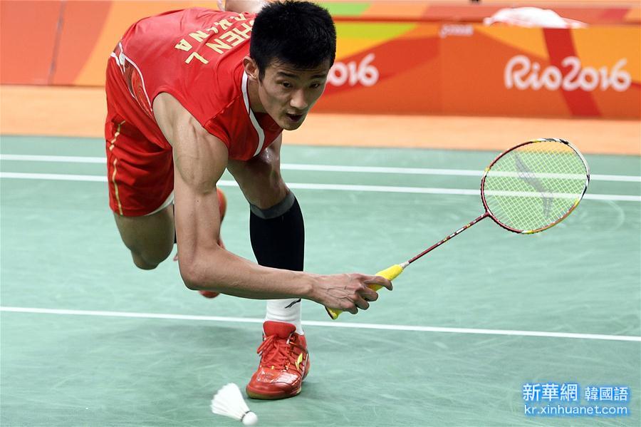 (裏約奧運會)(10)羽毛球——男單決賽:諶龍奪冠