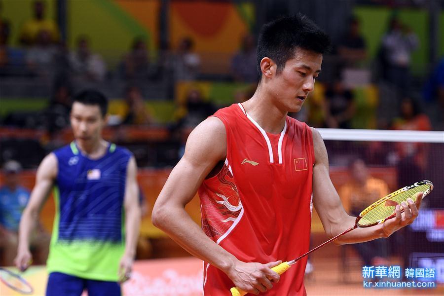 (裏約奧運會)(12)羽毛球——男單決賽:諶龍奪冠