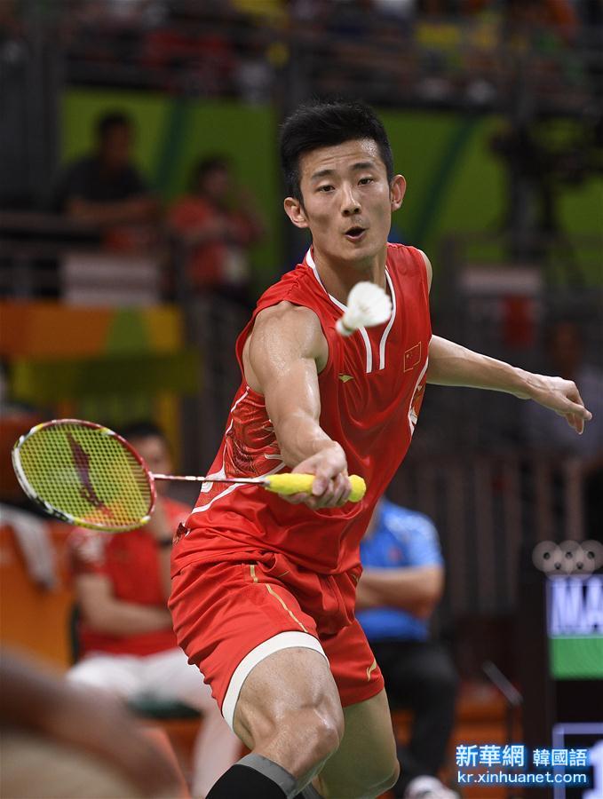 (裏約奧運會)(16)羽毛球——男單決賽:諶龍奪冠