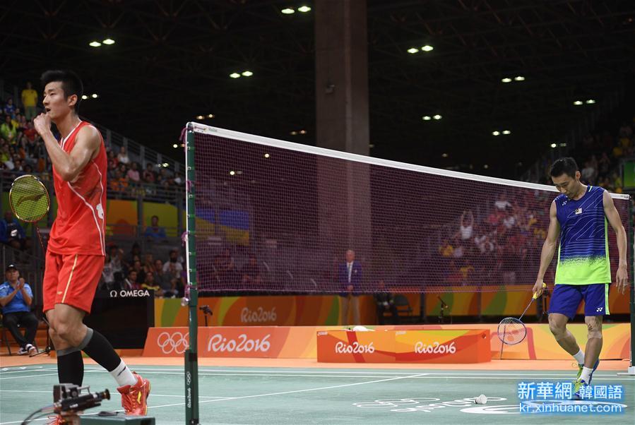 (裏約奧運會)(17)羽毛球——男單決賽:諶龍奪冠