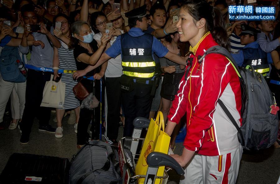 (體育)(4)中國女排回國