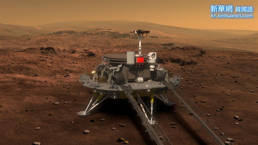 """(科技)(3)中國火星車亮相 有4個""""大翅膀"""""""