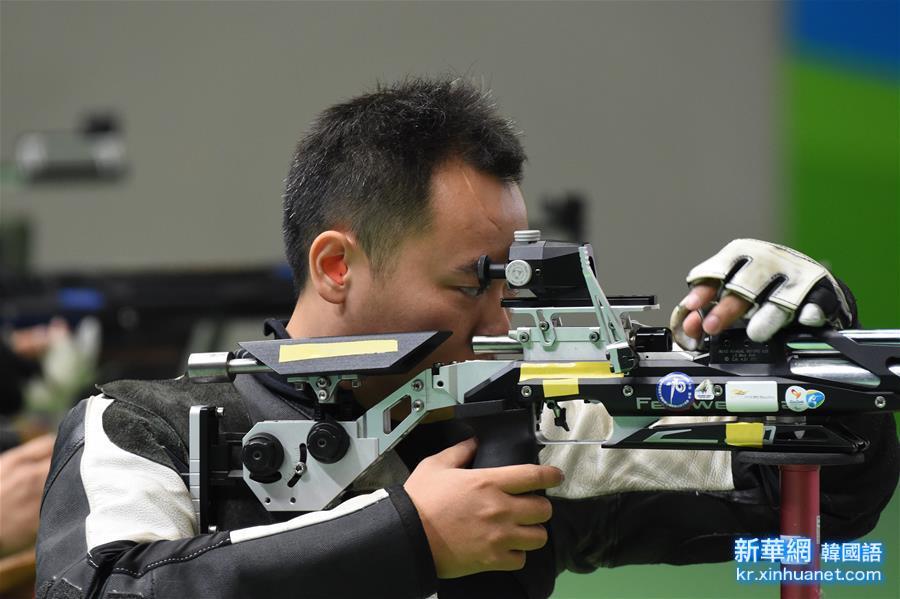 (裏約殘奧會)(1)射擊——董超為中國代表團贏得裏約殘奧會首金