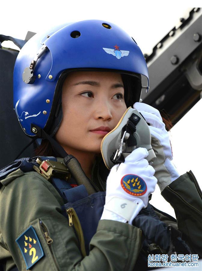 (圖文互動)(2)中國首位殲-10女飛行員余旭被批準為革命烈士