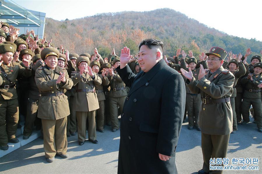 (國際)(1)金正恩指導朝鮮人民軍發射4枚彈道火箭
