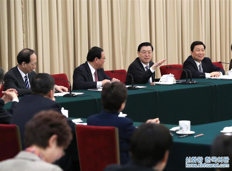 (兩會)張德江參加江蘇代表團審議