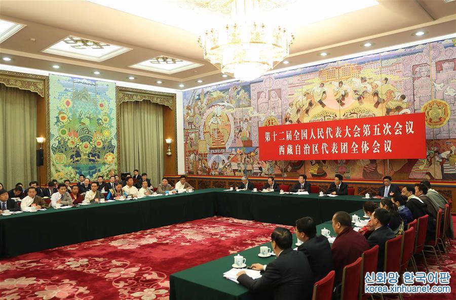 (兩會)西藏代表團全體會議向媒體開放