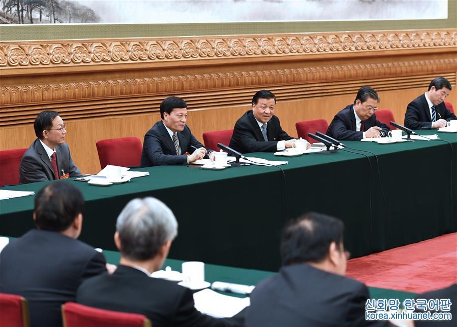 (兩會)劉雲山參加河南代表團審議