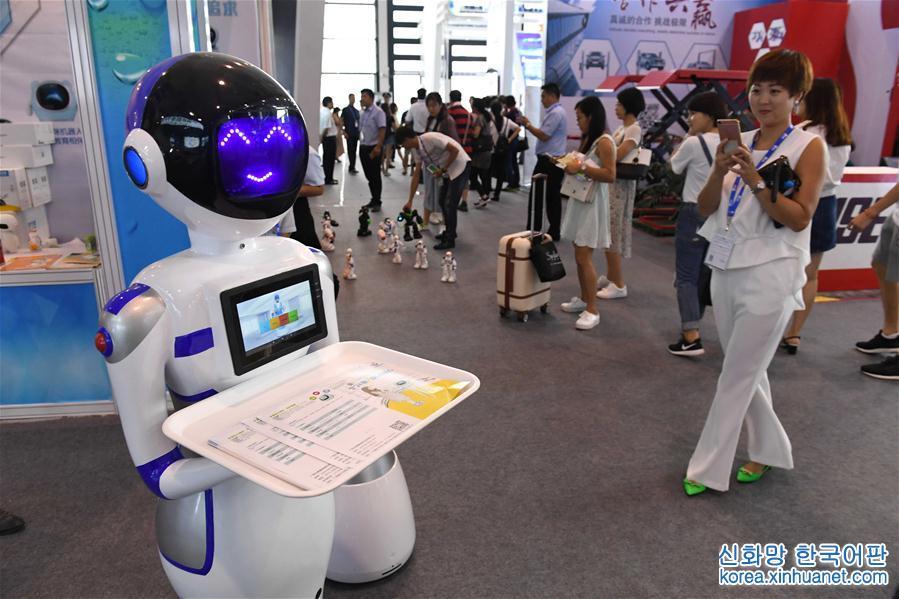 """(中国-东盟博览会)(6)高新科技""""闪耀""""中国-东盟博览会"""