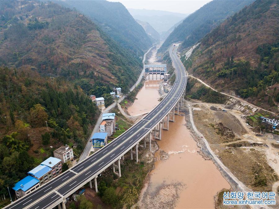 (經濟)(1)萬利高速公路重慶段建設進入尾聲 年內實現通車