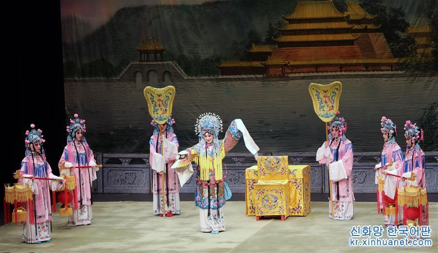 (文化)(1)京劇大師梅蘭芳藝術專場在香港上演