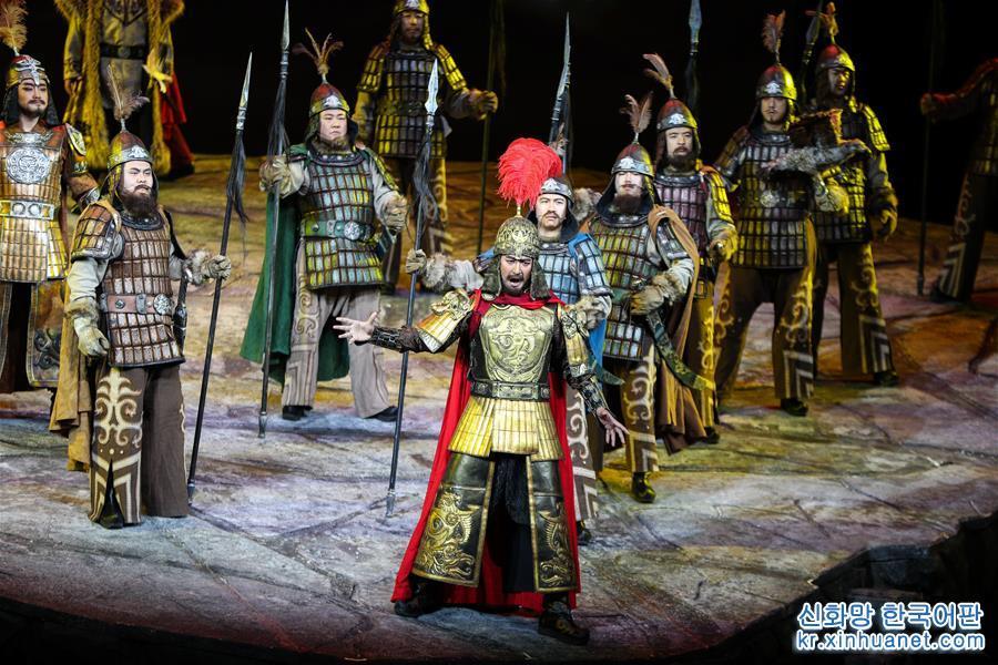 (新華視界)(1)歌劇《瑪納斯》在京上演