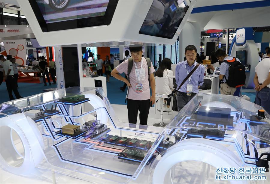 (经济)(1)中国国际半导体博览会在上海开幕