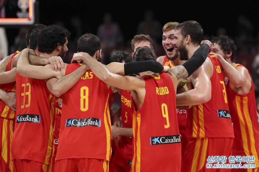 (籃球世界杯)(1)籃球——西班牙隊奪冠