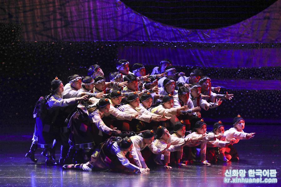 (新華視界)(1)大型舞劇《盛世鍋莊》在蘭州上演