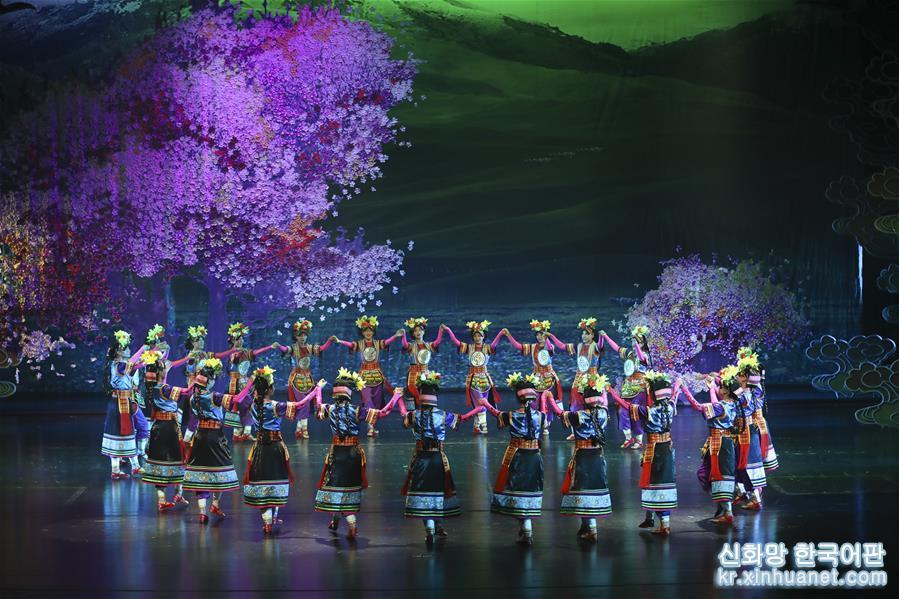 (新華視界)(4)大型舞劇《盛世鍋莊》在蘭州上演
