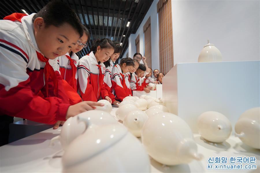 (教育)(1)河北內丘:走近邢窯 感受家鄉文化