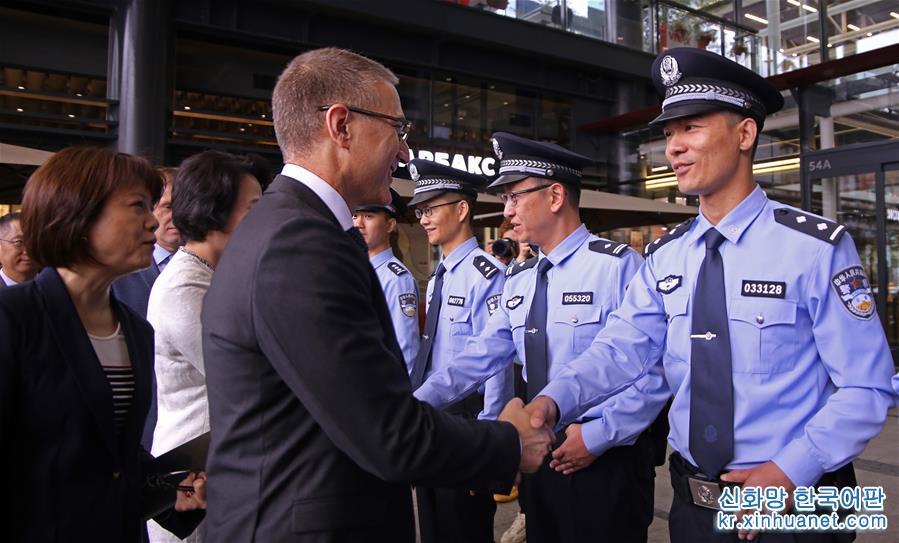 (國際)(1)中國與塞爾維亞首次警務聯巡啟動