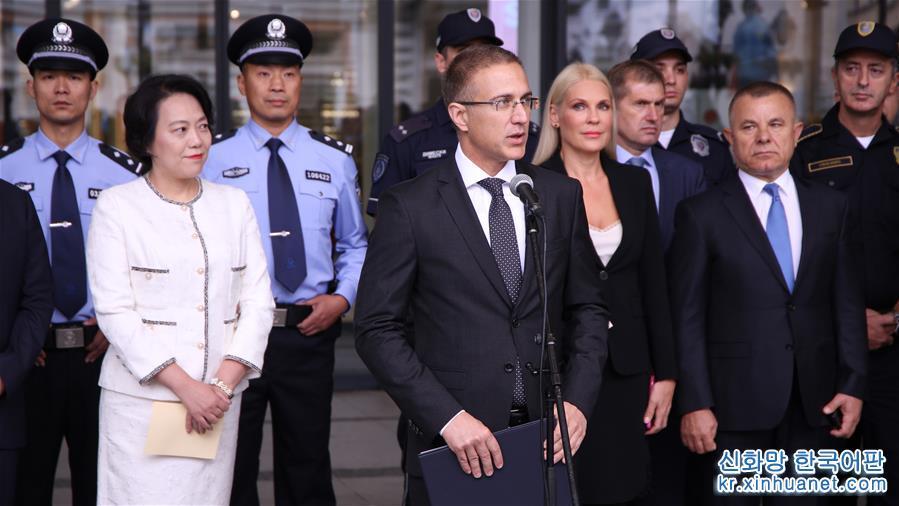 (國際)(2)中國與塞爾維亞首次警務聯巡啟動