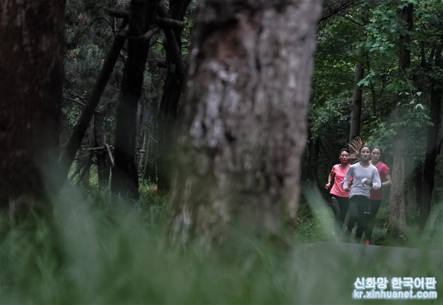 """(軍運會·圖文互動)(9)""""冠軍女孩""""的叢林穿越"""