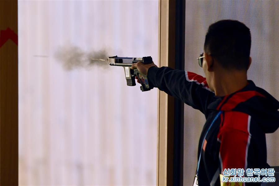 (軍運會)(1)射擊——中國代表團首金産生