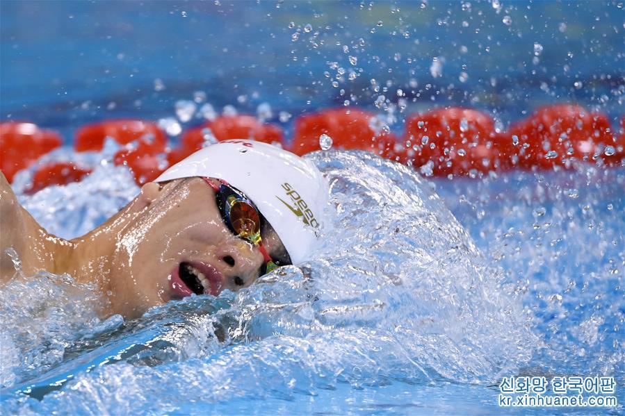 (軍運會)(6)水上救生——男子200米障礙遊泳:中國隊包攬冠亞軍