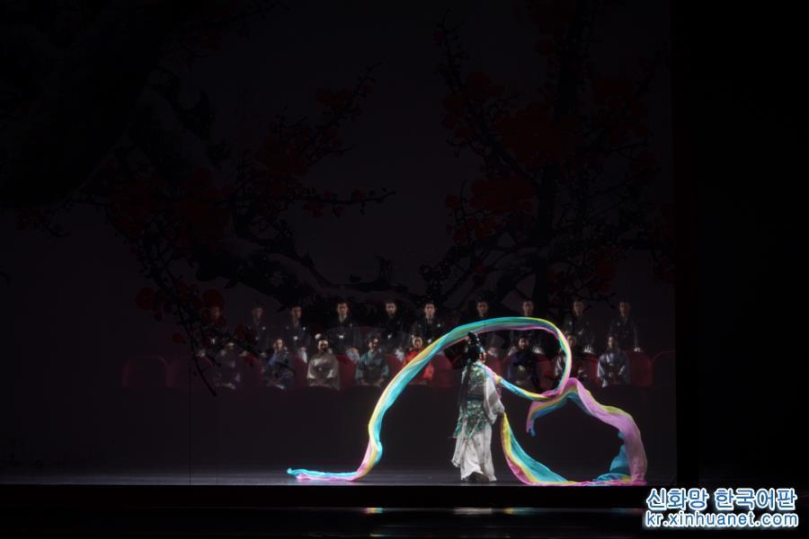 (文化)(3)京劇《梅蘭芳·蓄須記》在南京上演